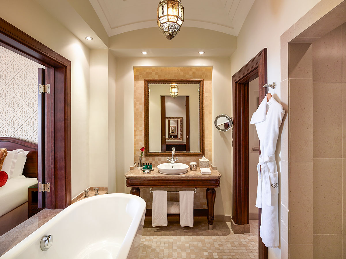 Luxury Twin Bathroom